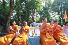 องค์กรพระธรรมทูตไทย ร่วมกับวัดพุทธารามลีดส์ บำเพ็ญกุศลอุทิศถวายเจ้าประคุณสมเด็จพระพุฒาจารย์ ในวาระครบ ๓ ปี