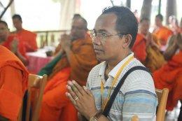 พระวิทยากรกระบวนธรรม ร่วมทำบุญทอดผ้าป่า ณ วัดไทยนาลันทา วัดนวมินทรธัมมิกราช ประเทศอินเดีย