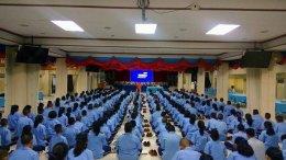 โรงเรียนสุวรรณาราม บางกอกน้อย จัดกิจกรรมส่งเสริมคุณธรรมจริยธรรม ให้แก่นักเรียนชั้นมัธยมปีที่ 2 ประมาณ 300 คน