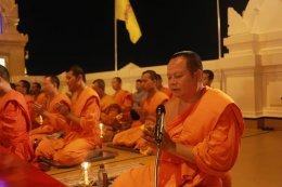 พระวิทยากรกระบวนธรรม จากทั่วประเทศ  ร่วมเจริญพระพุทธมนต์ถวายเป็นพระราชกุศล ถวายพระพรชัยมงคล