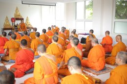 เปิดโครงการอบรมพระวิทยากรกระบวนธรรม (ภาคปฏิบัติ) ณ วัดไทยพุทธคยา ประเทศอินเดีย