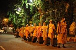 พระวิทยากรกระบวนธรรม จำนวน 82 รูป เดินทางไปอบรมที่ประเทศอินเดีย ระหว่างวันที่3-9 กรกฎาคม2559