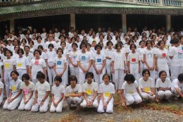 ค่ายพุทธบุตรโรงเรียนวรนารีเฉลิม จังหวัดสงขลา ณ วัดภูเขาหลง