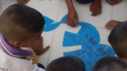 ค่ายพุทธบุตรโรงเรียนเทศบาล๔ บ้านแหลมทราย จังหวัดสงขลา