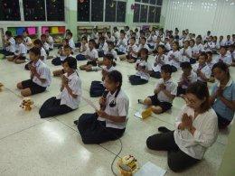 โครงการศาสนธรรมสร้างภูมิคุ้มกันยาเสพติด โรงเรียนวัดปากน้ำฝั่งเหนือ