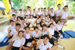 ค่ายคุณธรรมจริยธรรมนักเรียน โรงเรียนศรัทธาสมุทร จังหวัดสมุทรสงคราม ชั้นมัธยมศึกษาปีที่ 6 บรรยายโดยคณะพระวิทยากรกลุ่มใต้ร่มพุทธธรรม