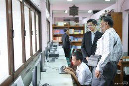 โรงเรียนวัดสระเกศต้อนรับคณะศึกษาดูงาน ข้าราชการกระทรวงศึกษาธิการศรีลังกา