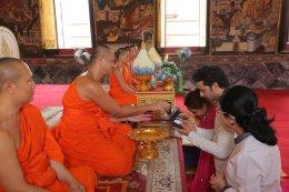 "Himanshu Soni ผู้รับบทเป็นพระพุทธเจ้า ในซีรี่ส์ ""พระพุทธเจ้า มหาศาสดาโลก"""