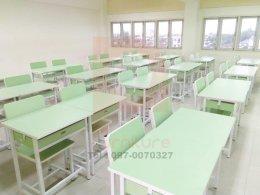 ชุดโต๊ะเก้าอี้นักเรียน 'สีพาสเทล'