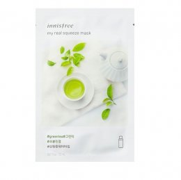Innisfree My real squeeze mask # Greentea