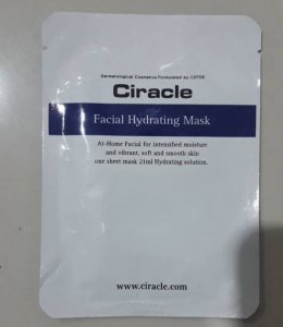 Ciracle facial hydrating mask