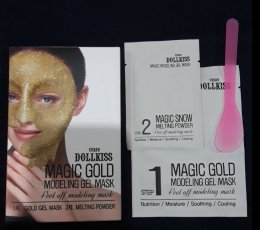 Urban Dollkiss Magic Gold modeling Gel mask