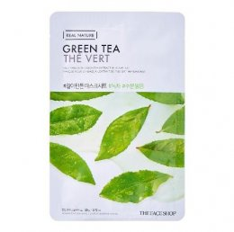 The face shop Green tea the vert masksheet