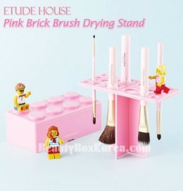 Etude house Pink brick brush drying stand