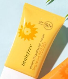 Innisfree Perfect UV protection cream #long lasting for dry skin 50ml