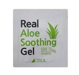 2SOL Real Aloe soothing Gel 91.3% 1ml*3ea
