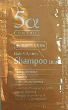 Leejiham 5a control hair 3-action shampoo liquid 5ml*10ea