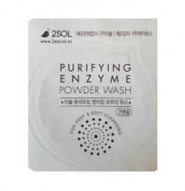 2SOL Purifying enzyme powder wash 1ml*1ea