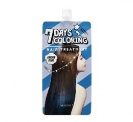 Missha 7Days coloring hair treatment #Smoke Blue