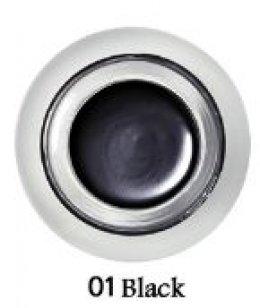 Holika jewel light jell eye liner #01 black