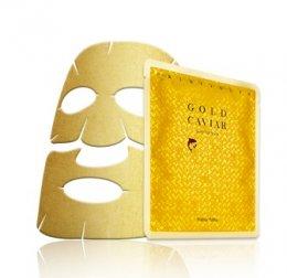Holika gold caviar gold foil mask