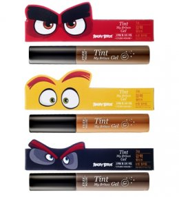 Etude house Angry birds tint my brows Gel #2 light brown