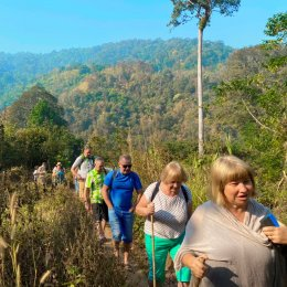 Full Day Experience Trek Mae Tang Area