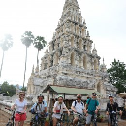 HALF DAY CHIANGMAI CULTURE CYCLING