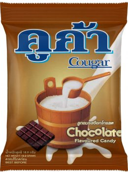 Cougar Chocolate Flavoured Candy