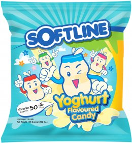 Softline Yoghurt Flavoured Candy