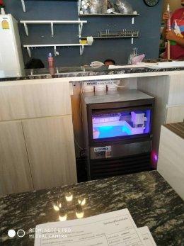 Montachato cafe ( มัณตชาโต คาเฟ่ ) หัวหิน ไว้วางใจเครื่องทำน้ำแข็ง GenIce
