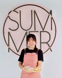 ร้าน Summer Coffee & Bakery สงขลา  ก็ใช้เครื่องทำน้ำแข็งเจ็นไอซ์