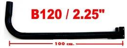 เสาตั้งจาน C-Band แบบยาว 120cm. ฐานปกติ