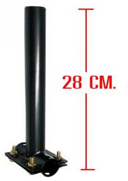 ข้อต่อเสาเสริม ตัวL 28cm TPL 1.5