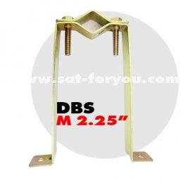 ขายึดเสาตัว M ทองเหลือง (เสา 2.25นิ้ว)