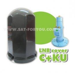 หมวกครอบ LNB ขนาดใหญ่ C+KU