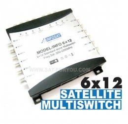 Multi Switch 6x12 INFOSAT (เข้า6ออก12)