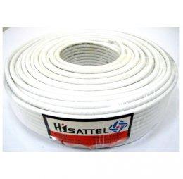 สายRG6 HISATTEL 64% 100ม. สีขาว