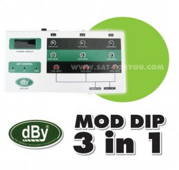 MOD dBy Adjust Channel 3 IN 1