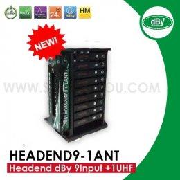 Headend dBy 9 Input +1 UHF