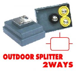 Outdoor Splitter CABLE 2Way
