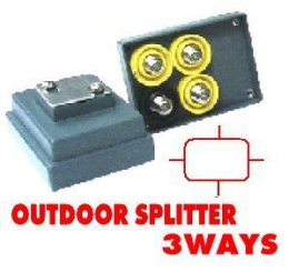 Outdoor Splitter CABLE 3Way