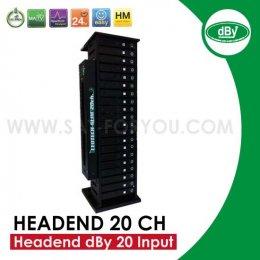 ชุุดงานระบบสำเร็จรูป Headend Slim 20CH