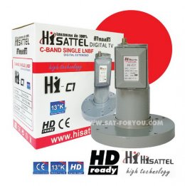 LNB-C BAND HISATTEL C1 new
