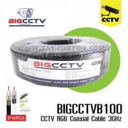 สายกล้องวงจรปิด BIG CCTV 95% 100ม. สีดำ