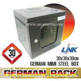 ตู้แร็คเอนกประสงค์ GERMAN RACK LINK ดำ