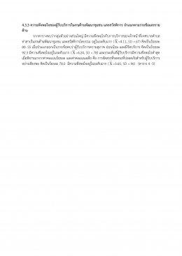 รายงานผลการสำรวจความพึงพอใจการให้บริการ เทศบาลตำบลท่าสาป อำเภอเมืองยะลา จังหวัดยะลา