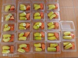 เมนูอาหารกลางวันของเด็กๆศูนย์พัฒนาเด้กเล็กนูรุลฮูดา