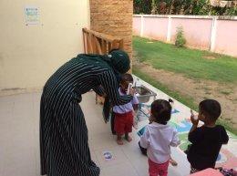 บรรยากาศเปิดเทอมวันแรกของน้องๆศูนย์พัฒนาเด็กเล็กนูรุลฮูดา