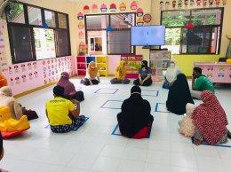 ศูนย์พัฒนาเด็กเล็กนูรุลฮูดา จัดประชุมผู้ปกครองเพื่อเตรียมความพร้อมในการเปิดภาคเรียน